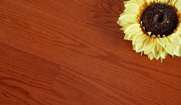 热恋花火美国红橡实木复合地板