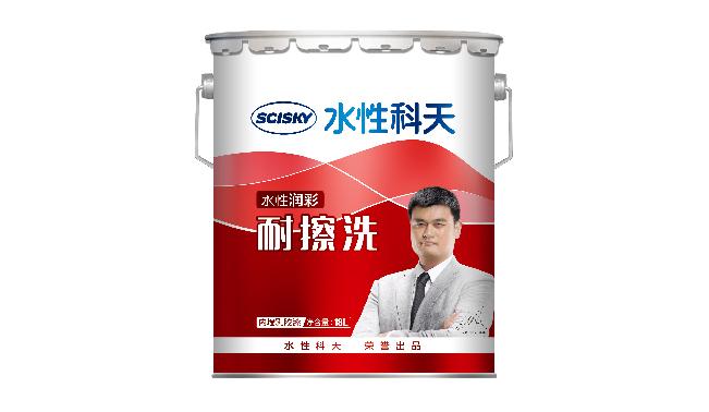 水性润彩耐擦洗内墙乳胶漆